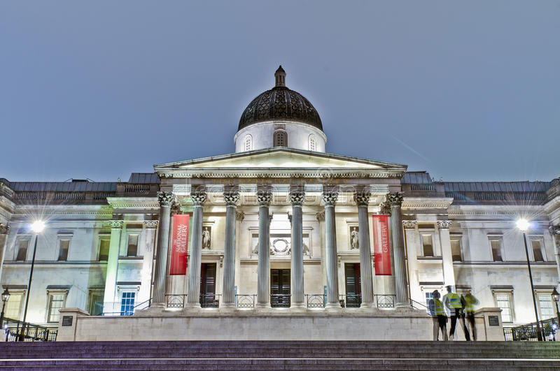 Download National Gallery At London, England Stock Image - Image of britain, english: 39510433