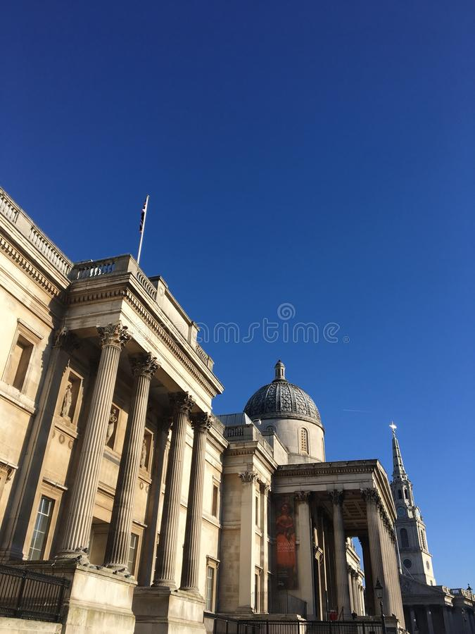 National Gallery Londres image stock