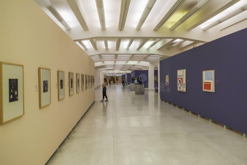 National Gallery Prague arkivfoto