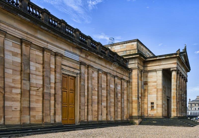 The National Gallery of Scotland, Edinburgh royalty free stock photo