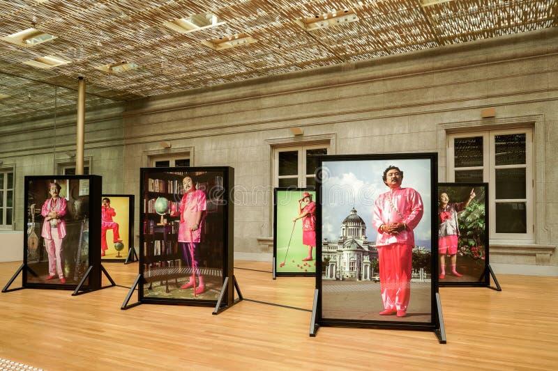 National Gallery Singapore, Iconic gränsmärke royaltyfria bilder