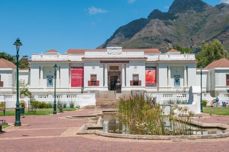 National Gallery sudafricano immagini stock
