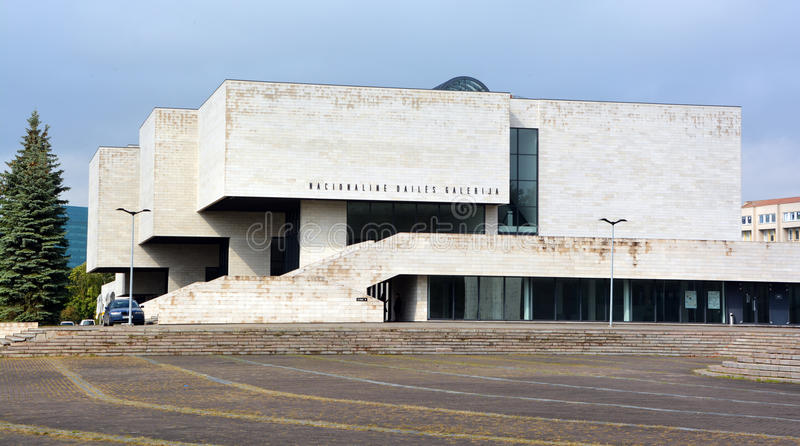 National Gallery sztuka, Vilnius obrazy stock