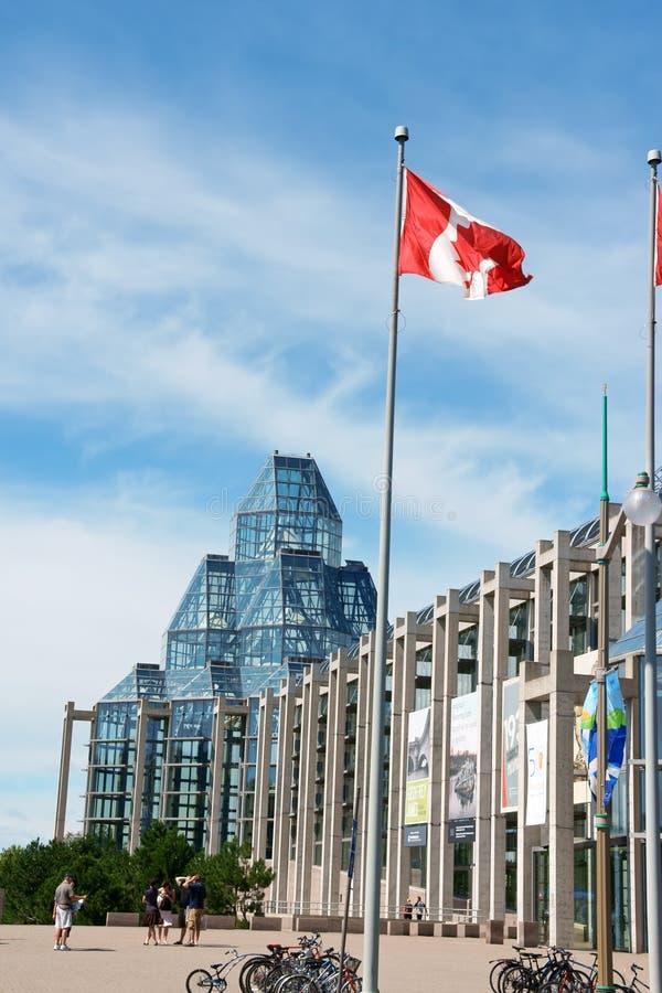 National Gallery van Canada in Ottawa stock afbeelding