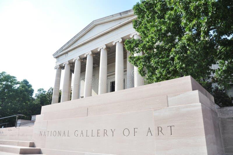 National Gallery van Kunst in Washington DC stock fotografie