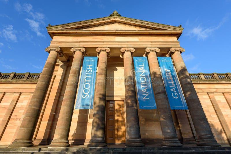 National Gallery von Schottland - Großbritannien stockfoto