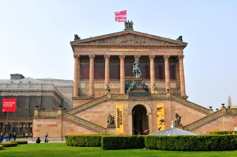 National Gallery w Berlin, Niemcy zdjęcie stock