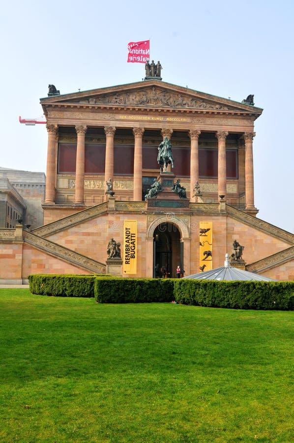 National Gallery w Berlin, Niemcy obraz royalty free