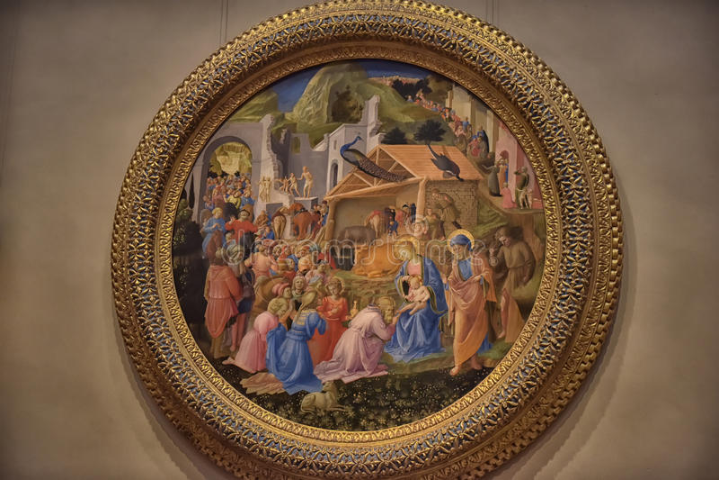 National Gallery, Washington stock afbeelding