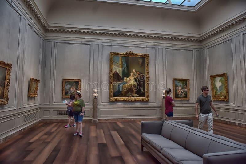 National Gallery, Washington stock foto