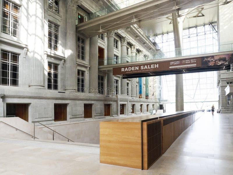 National Gallerymuseum Singapore stock afbeeldingen