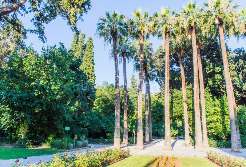 National Garden entrance stock photos