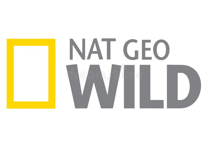 National Geographic Wild Logo. Vector format available illustrator AI vector illustration
