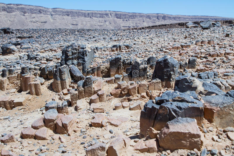 National geological park HaMakhtesh HaRamon. Israel . National geological park HaMakhtesh HaRamon - Ramon Crater is the Largest crater- geological erosion land stock images
