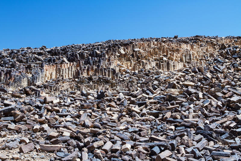 National geological park HaMakhtesh HaRamon. Israel . National geological park HaMakhtesh HaRamon - Ramon Crater is the Largest crater- geological erosion land royalty free stock photography