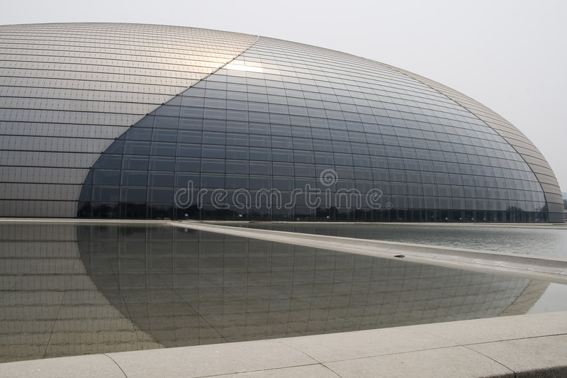 The National Grand theater stock photography