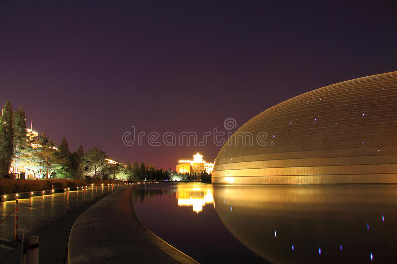 National grand theatre royalty free stock photo