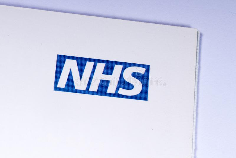National Health Service Logo royalty free stock image