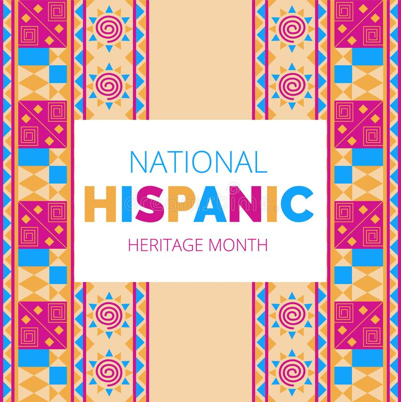 Free National Hispanic Heritage Month Celebrated From 15 September To 15 October USA. Stock Photo - 160121540