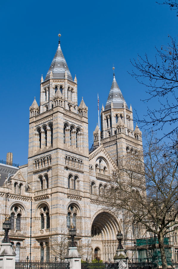 National history museum, London royalty free stock images