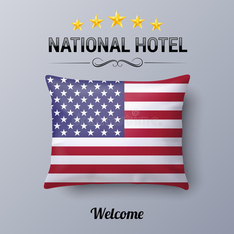 National Hotel royalty free illustration