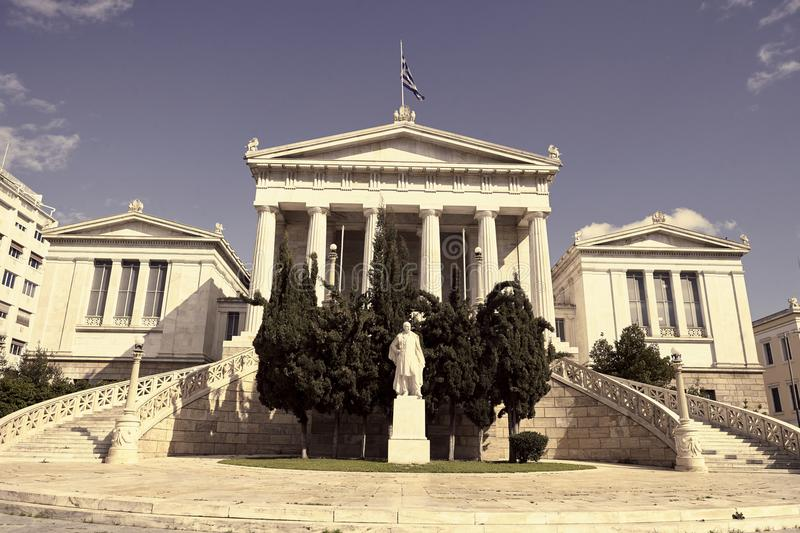National Library of Athens stock photos