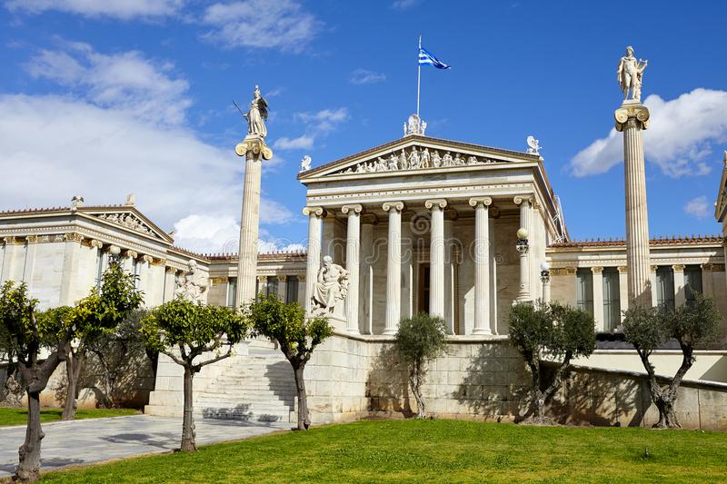 National Library of Athens royalty free stock images