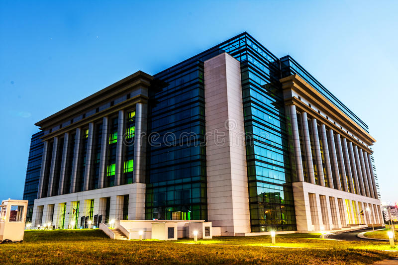National Library, Bucharest. Romanian National Library in Bucharest royalty free stock image