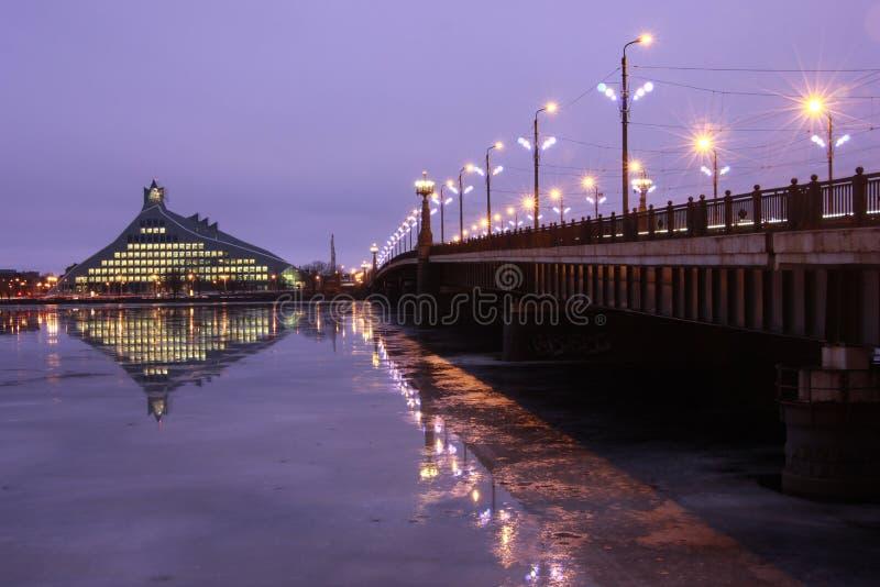 National Library of Latvia - Riga, Latvia royalty free stock images