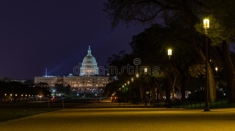 National Mall I arkivfoton