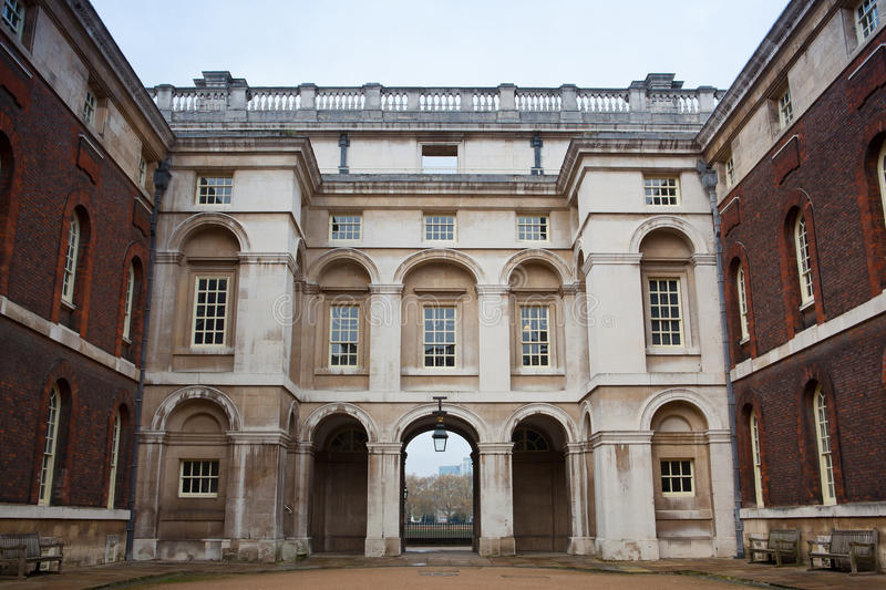 The National Maritime Museum in Greenwich, London stock images