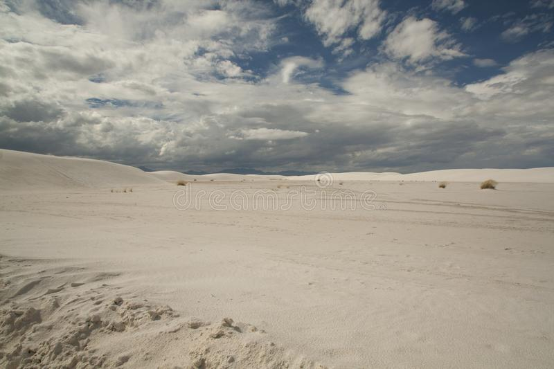 White Sands, National Monument, New Mexico, USA. stock image