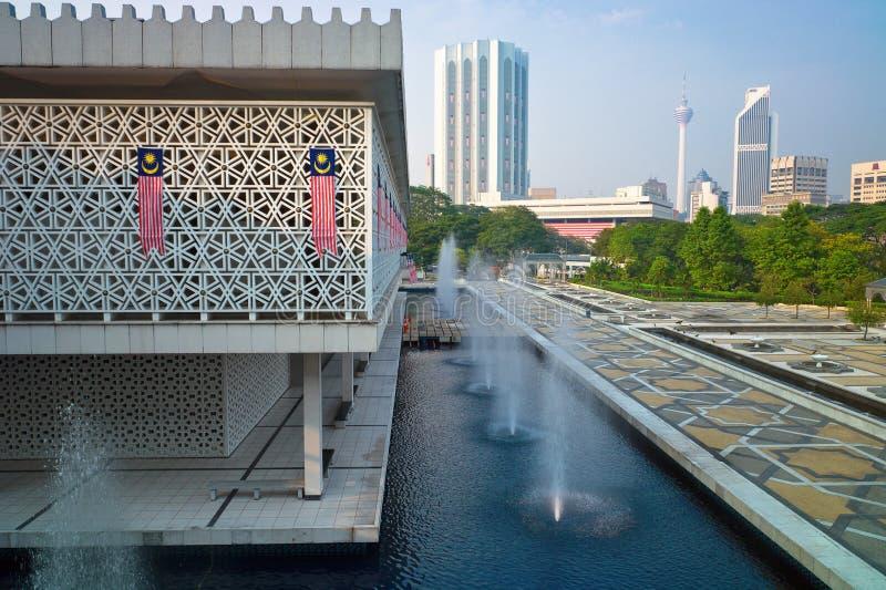 National Mosque of Malaysia. Kuala Lumpur royalty free stock photos