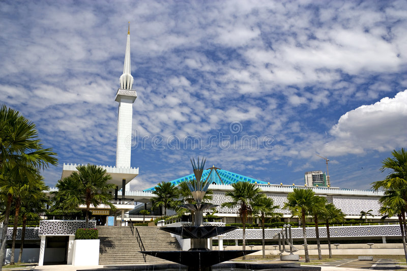 Download National Mosque Of Malaysia Stock Image - Image: 6861189