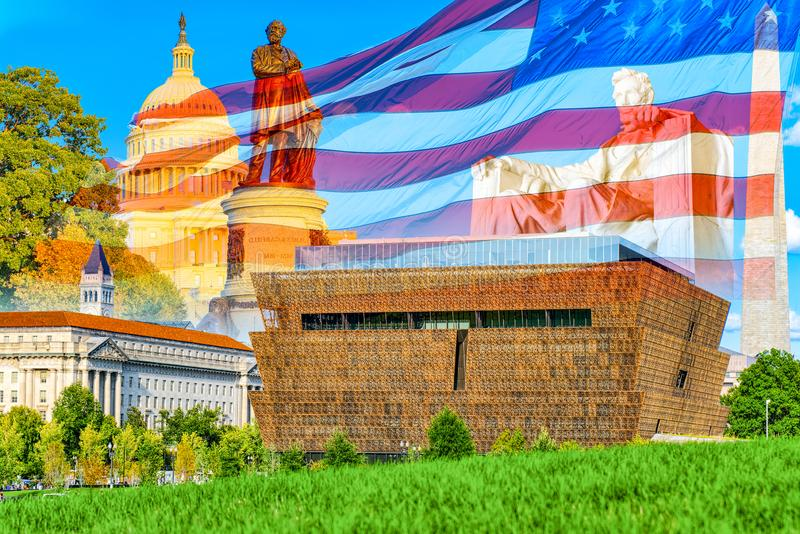 National Museum of African American History and Culture. Washington. royalty free stock photos