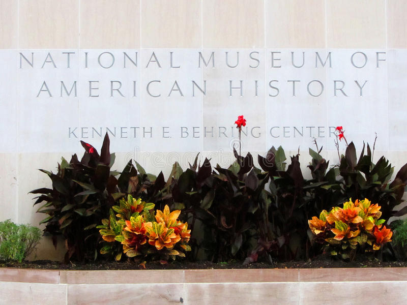 National Museum of American History, Washington DC royalty free stock image