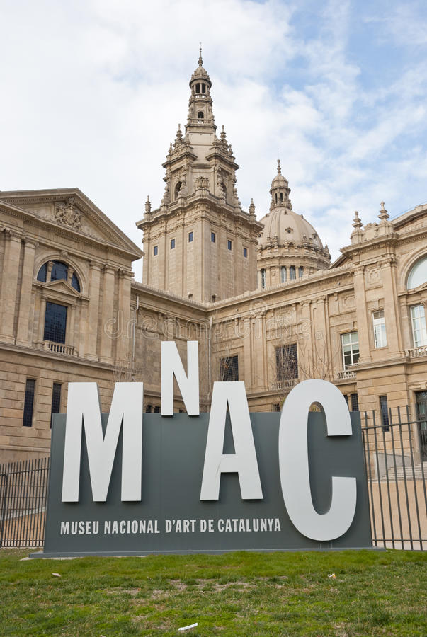 National Museum of Art, Barcelona royalty free stock photos