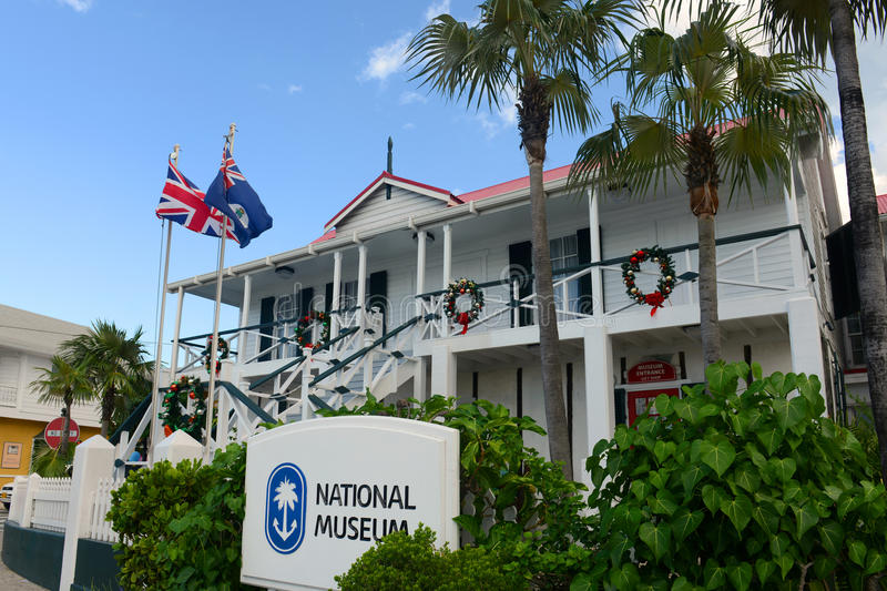 National Museum in George Town, Cayman Islands. National Museum in downtown George Town, Grand Cayman, Cayman Islands stock images
