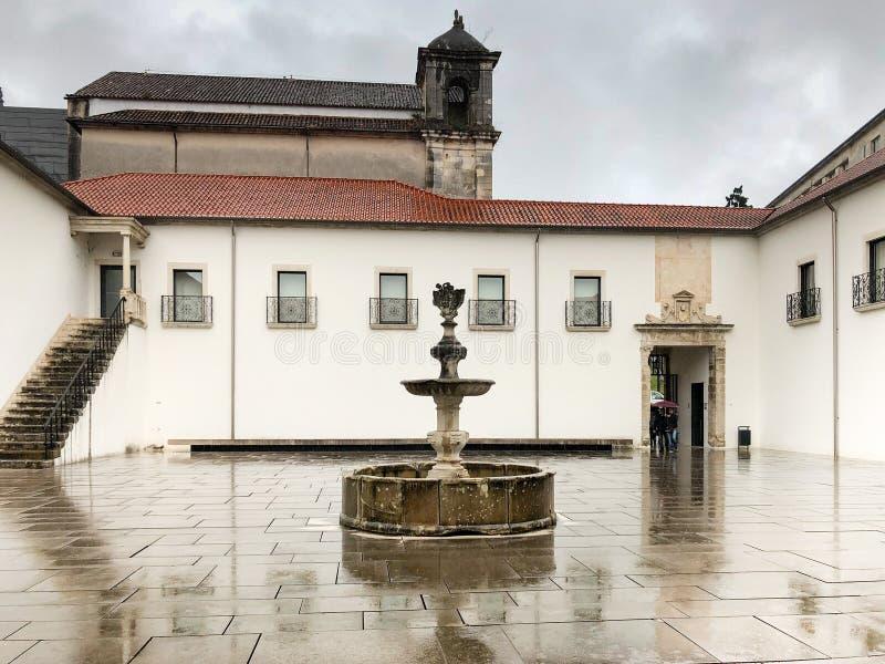 National Museum Machado de Castro, Coimbra Portugal. The National Museum Machado de Castro is an art museum in Coimbra, Portugal stock photos