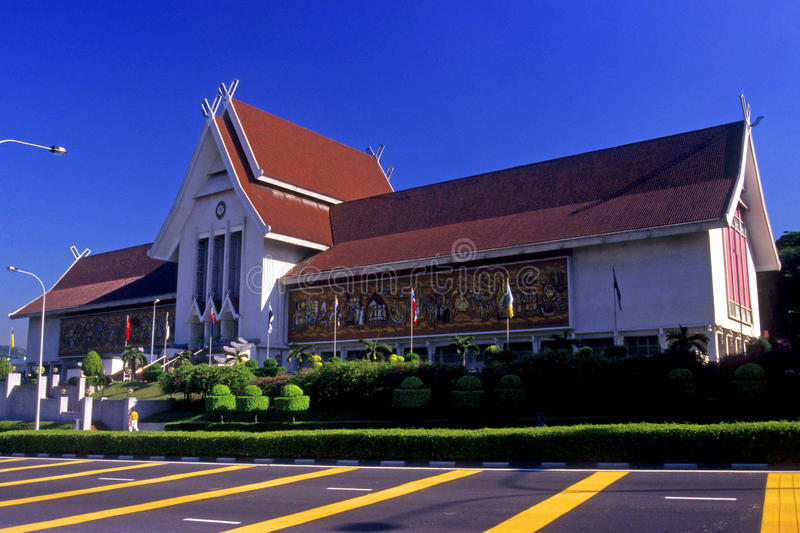 National Museum of Malaysia stock image