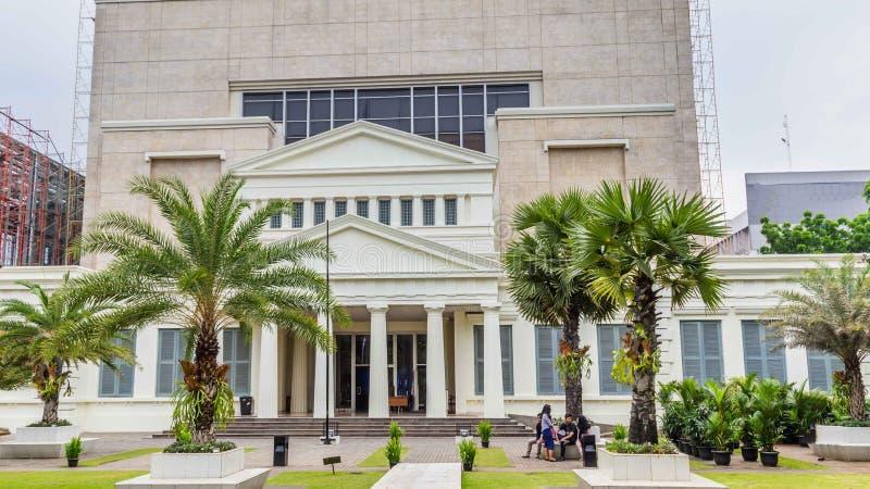 National Museum on Merdeka Square in Jakarta city, Java , Indone stock image