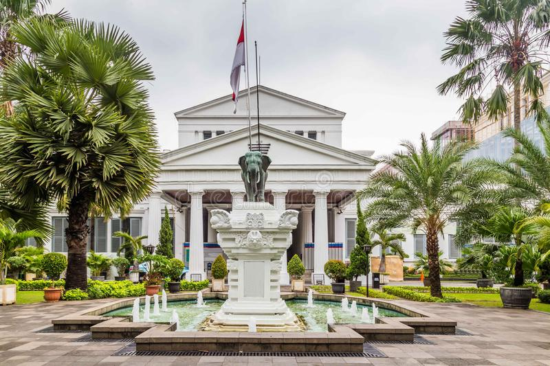 National Museum on Merdeka Square in Jakarta city, Java , Indone stock images