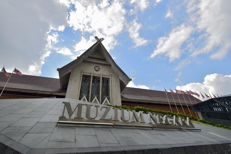 The National Museum or Muzium Negara Malaysia. stock photos