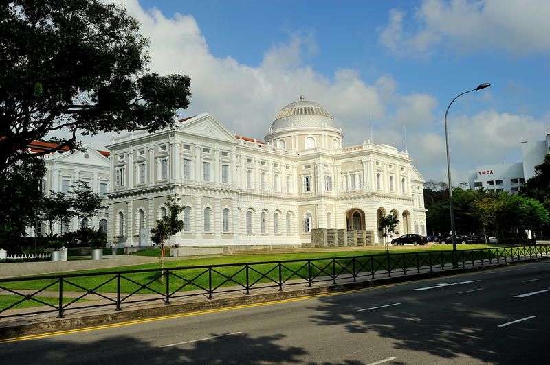 The National Museum of Singapore royalty free stock photography