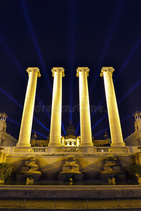 Download National Palace Of Barcelona Stock Photo - Image: 22672356