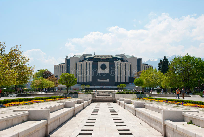 National Palace of Culture, Sofia, Bulgaria. SOFIA, BULGARIA - APRIL, 30: National Palace of Culture is the largest multifunctional congress, conference royalty free stock photography