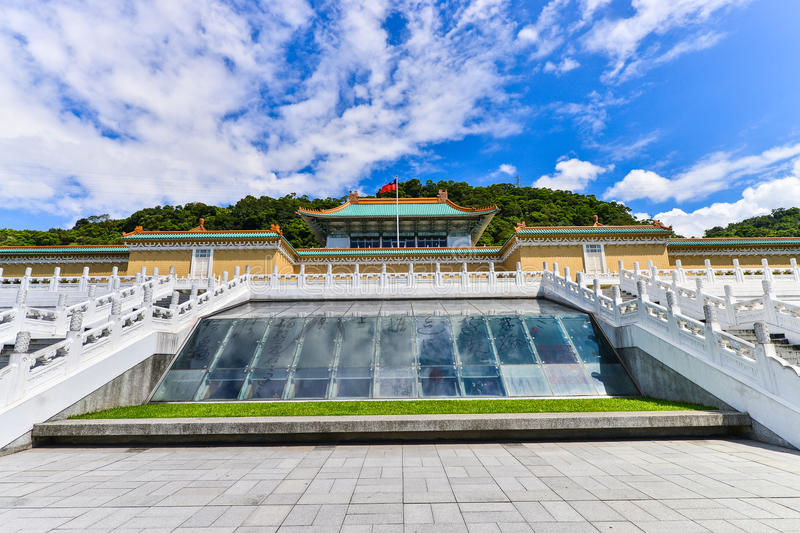 National Palace Museum in taipei,Taiwan royalty free stock images