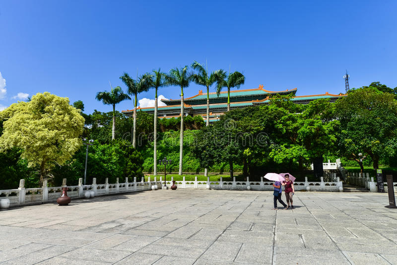 National Palace Museum in taipei,Taiwan royalty free stock photos