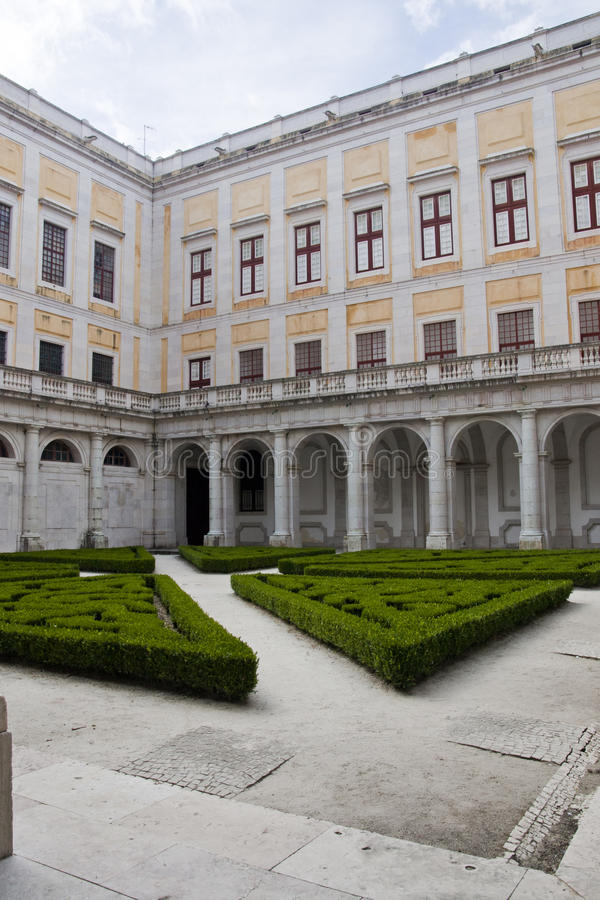 Free National Palace Of Mafra Royalty Free Stock Photography - 18526077