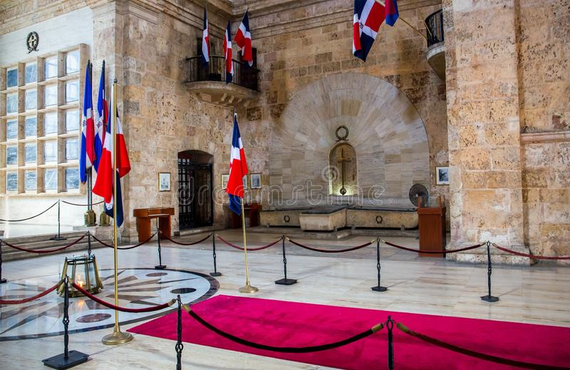 National pantheon in Santo Domingo royalty free stock photography